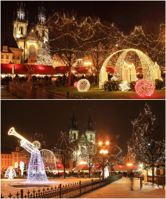 Ничто так не преображает Прагу, как ожидание Рождества (Чехия). | Фото: 420on.cz/ zlatapraha.net.