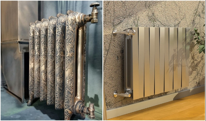 Отопительные радиаторы могут стать стильным декором.