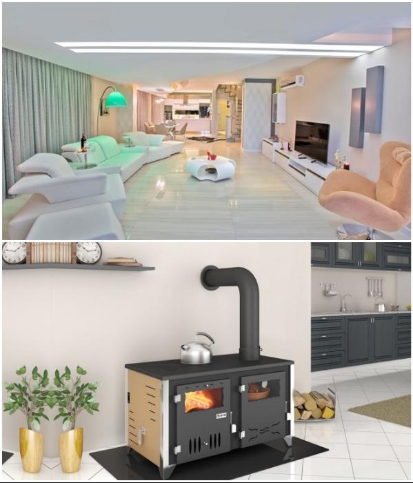 Большинство квартир в Турции владельцы отапливают своими силами, в приоритете кондиционеры и специальные печки. | Фото: homesoverseas.ru/ irina-calish.livejournal.com.