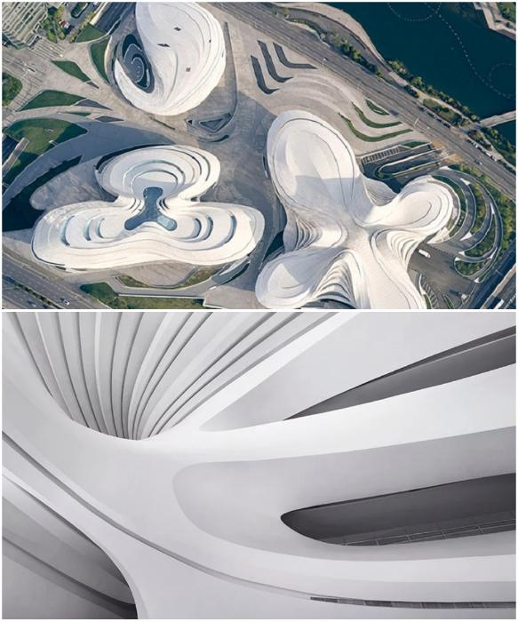 Одно из зданий ансамбля занимает художественный музей современного искусства MICA («Мэйсиху», Китай). | Фото: internews.biz /© Virgile Simon Bertrand.