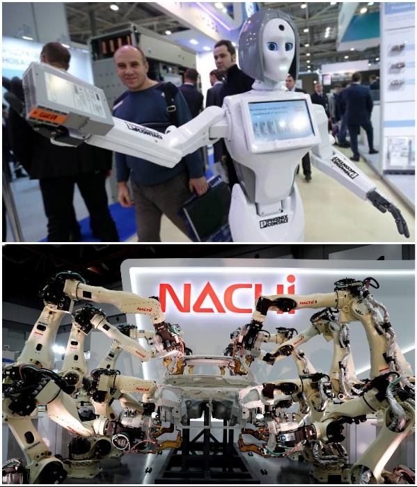 Токио – давно превратился в столицу роботов. | Фото: robo-hunter.com/ интересное.ru.com.