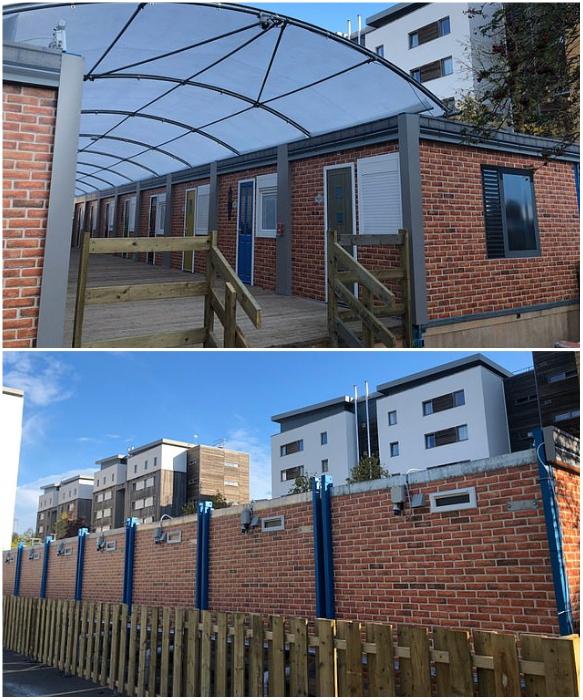 Вместо парковки было построено общежитие для студентов Бристольского университета (Великобритания). | Фото: lemurov.net.