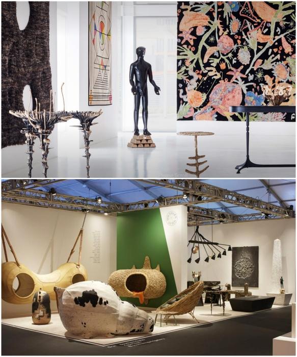 Самые яркие предметы галереи Southern Guild, представленные на одной из крупнейших американских ярмарок коллекционного дизайна. | Фото: southernguild.co.za.