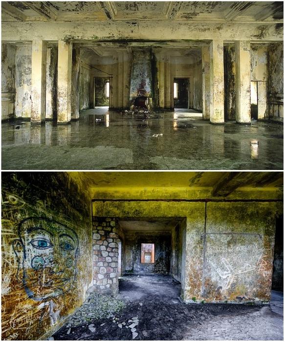 Все, что осталось от былой королевской роскоши Bokor Palace Hotel & Casino (Камбоджа). | Фото: allthatsinteresting.com.
