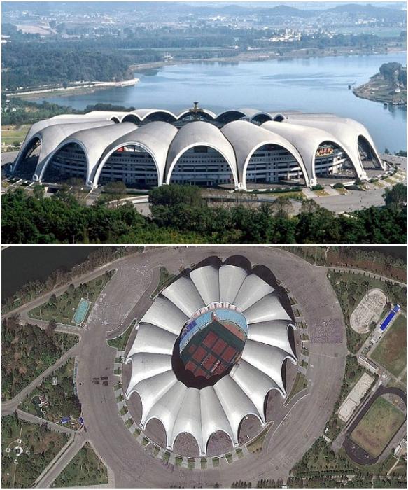 «Стадион Первого Мая» является самым большим по вместительности стадионом мира (Пхеньян, КНДР). | Фото: budport.com.ua/ orangesmile.com.