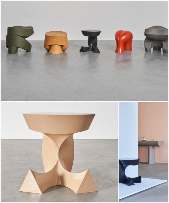 Датский художник Aldo Bakker создал коллекцию скульптурных и функциональных объектов, которые будут представлены на выставке Carpenters Workshop Gallery в Нью-Йорке. | Фото: archidea.com.ua.