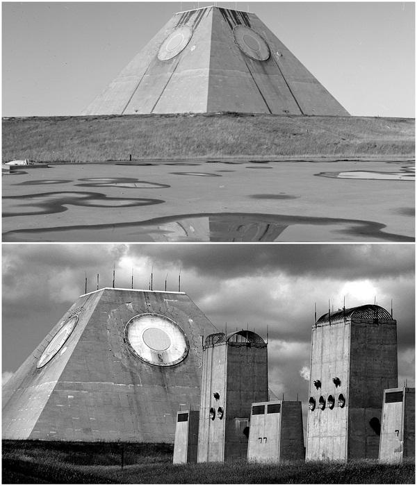 Missile Site Radar – мощная крепость противоракетной обороны США в Северной Дакоте. | Фото: dnpmag.com/ ozersk74.com.