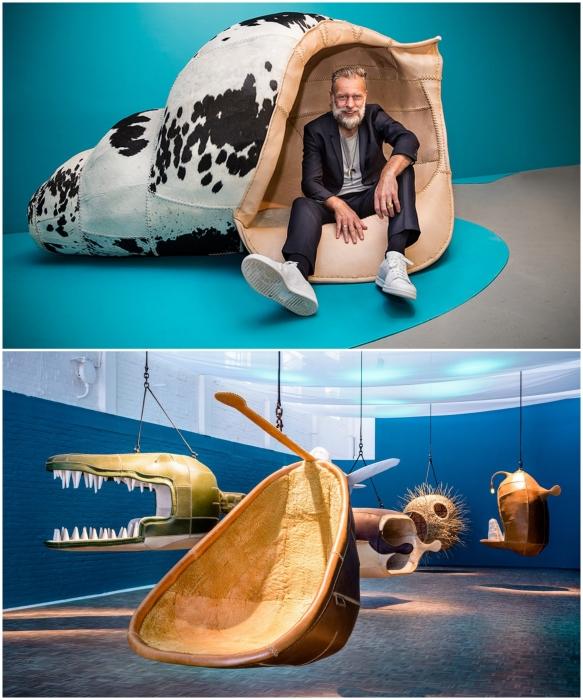 Porky Hefer – креативный дизайнер, создающий необычные кресла и стулья. | Фото: houseandleisure.co.za/ dailymaverick.co.za.
