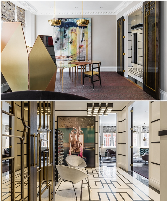 Nilufar Gallery совместно с Shalini Misra Ltd представили квартирную выставку Squat в Лондоне. | Фото: interior.ru.