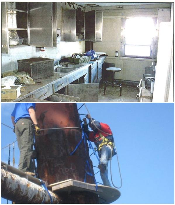 Практически 2 года Ричард с помощниками не покидал пределы «The Frying Pan Tower», чтобы восстановить коммуникации и навести порядок. | Фото: wwaytv3.com/ facebook.com, © Frying Pan Tower.