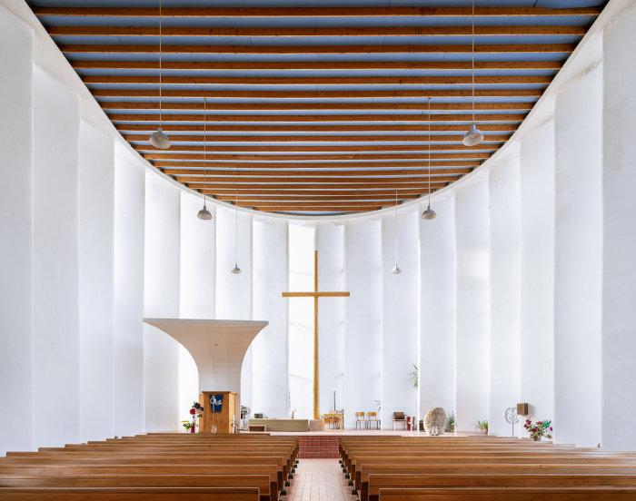 Воскресенская церковь, Амстердам (Marius Duintjer, 1956). | Фото: ©Thibaud Poirier.