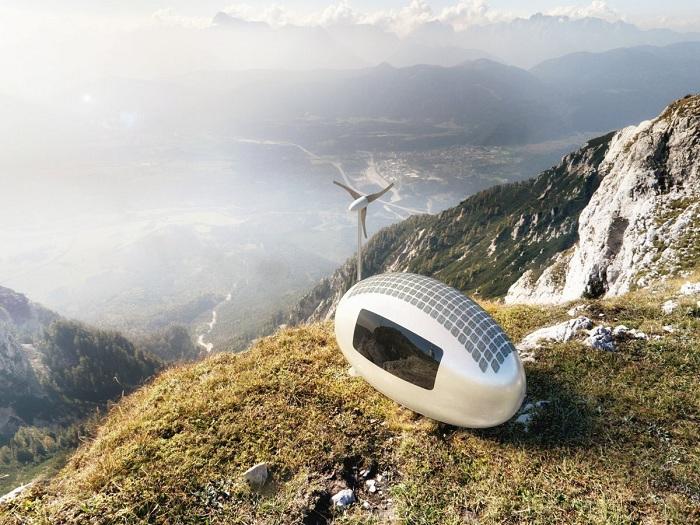 Мобильная и экономичная «Ecocapsule» от компании Nice Architects. | Фото: cameralabs.org.