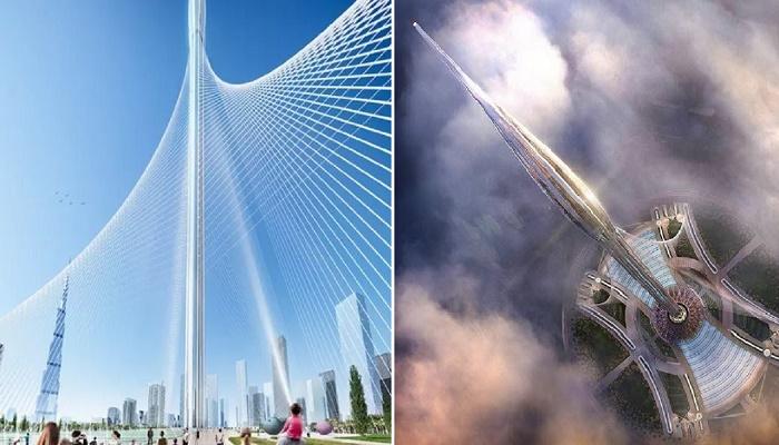 Мир в ожидании завершения строительства очередного инновационного шедевра, который побьет все рекорды (концепт Dubai Creek Tower). | Фото: ellomehtraveltours.com.