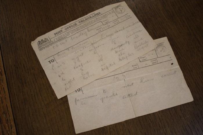 14 июля 1916 г. мать получила отказ в посещении сына, но за час до получения телеграммы Тед скончался от ран. | Фото: twitter.com/ © DanHillHistory.