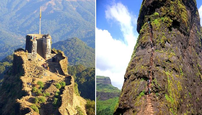 Чтобы добраться до форта Райгард, нужно преодолеть 1734 ступени (Индия).