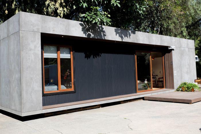 Чтобы в контейнерном доме можно было жить в любое время года и разных климатических зонах использовали теплоизоляционный утеплитель (VMD). | Фото: arauco.cl/ © Helioz Studio.