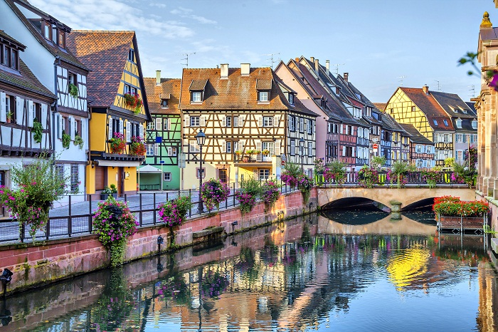 Colmar (Кольмар) — необыкновенно сказочно красивый городок Франции.