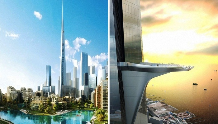 Королевская башня (Jeddah Tower) станет главным украшением города будущего Jeddah Economic City (Саудовская Аравия).