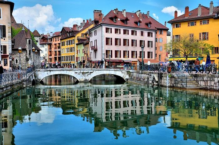 Annecy – один из самых красивых маленьких городков Европы (Франция).