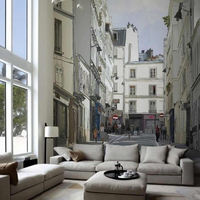 Городские улочки в композиции помогут достичь ошеломляющего вау-эффекта.
