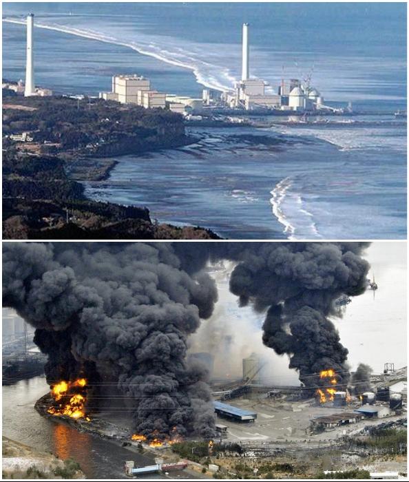 Просчеты в расположении самой АЭС и установке аварийного оборудования привели к грандиозной катастрофе (Фукусима, Япония).