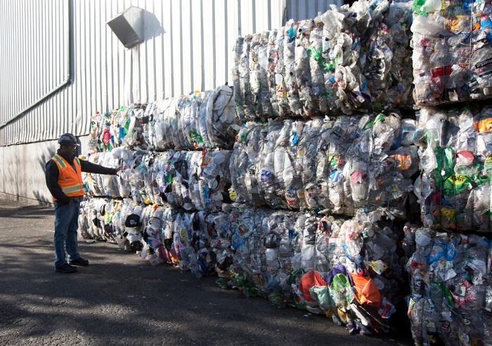 Сортировочный мусорный полигон Австралии.