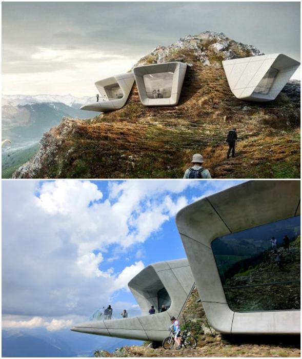Горный музей в Южном Тироле от Захи Хадид призван популяризировать альпинизм и нести образовательную и культурную функции.