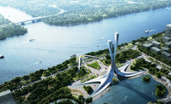 Авторы проекта обещают, что строительство нового объекта никак не повлияет на окружающую среду. | Фото: cladglobal.com.