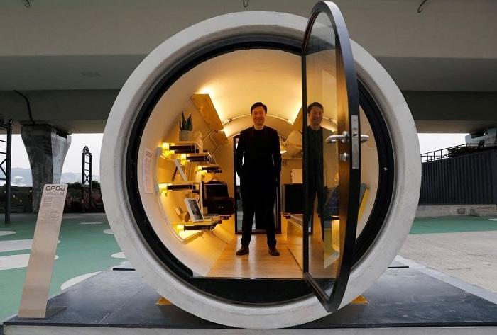 В Гонконге водосточные ж/б трубы превратят в комфортабельное жилье