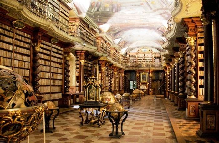 Национальная библиотека Праги (Чешская Республика).