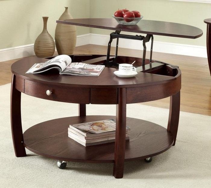 Оригинальный стол-трансформер.