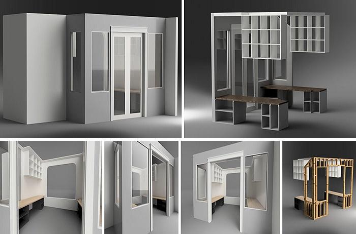 Проект кабинета с помощью дизайнерской программы Autodesk Fusion 360