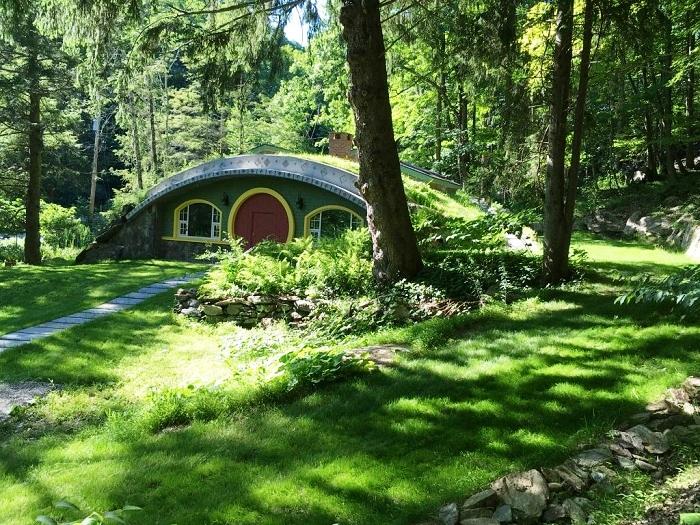 Лесной коттедж семьи Костиган (США).