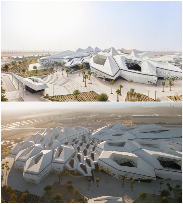 Исследовательский центр в Эр-Рияде был сдан в эксплуатацию в 2017 г. (Саудовская Аравия).
