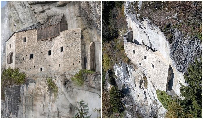 Неприступный Kropfenstein Castle является одним из самых таинственных замков на планете (Швейцария).