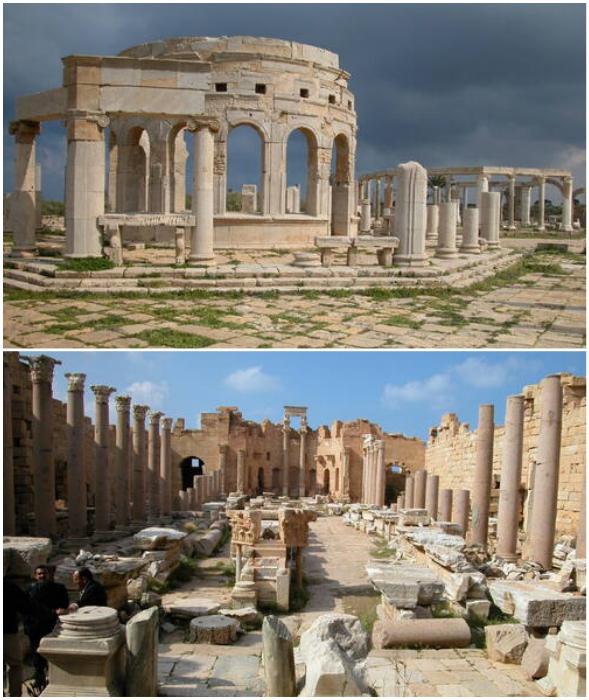 Leptis Magna – величественный «Рим» в Африке (Ливия).