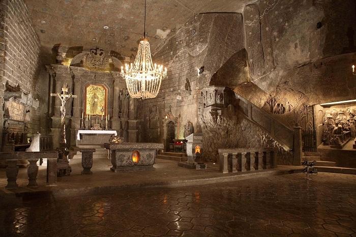Часовня Святого Антония в подземном городе.