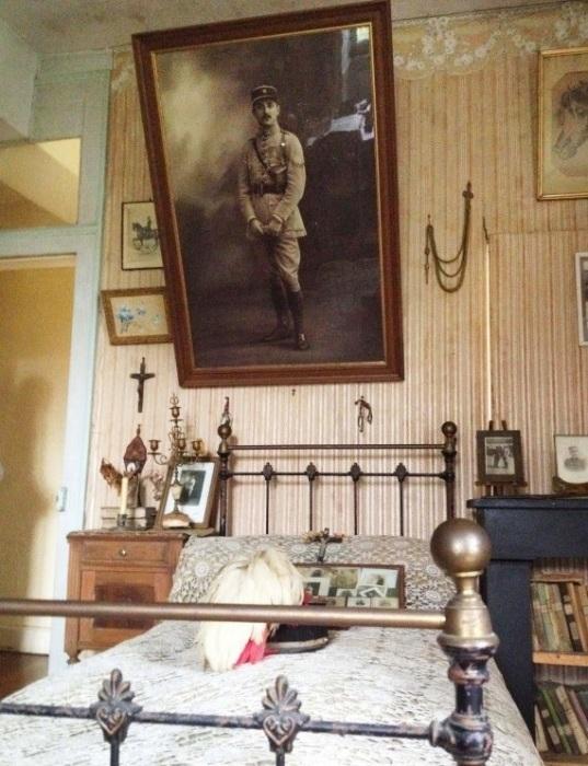 Хьюберт Рошеро был младшим лейтенантом французской армии во времена Первой мировой войны (Белабр, Франция). | Фото: fdra-historia.blogspot.com.