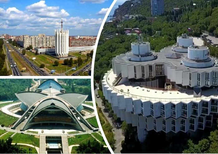 Самые яркие футуристические здания в СССР.