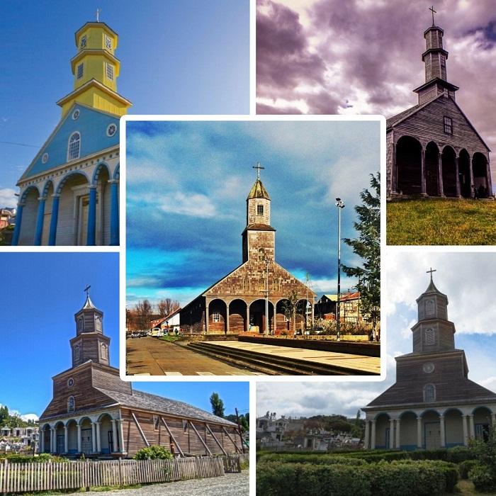 Уникальные храмы острова Чилоэ соединяют в себе христианские и языческие традиции.