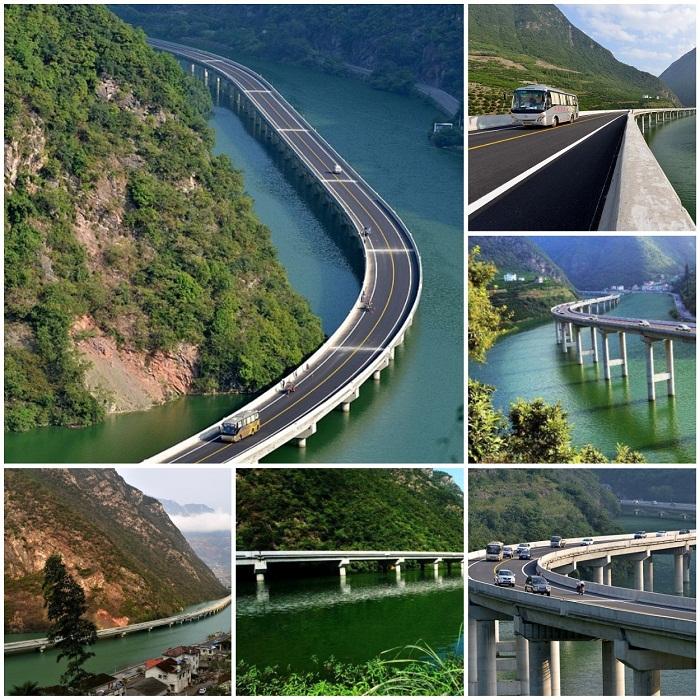 Самое первое в Китае и мире «экологическое шоссе».