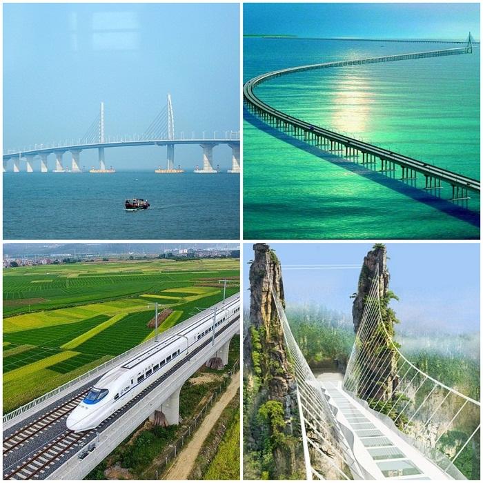 Семь из десяти самых-самых... мостов на земле создали в Китае.