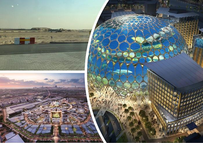 В пустыне строят фантастический город District 2020 (ОАЭ).