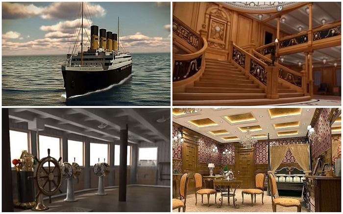 Будет воссоздан не только сам лайнер, но и маршрут следования легендарного «Титаника» .