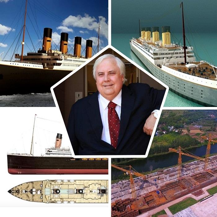Клайв Палмер инициировал и финансирует строительство «Титаника II».