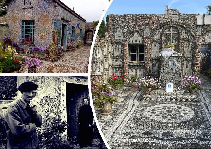 Удивительный дом Раймонда Исидора (Шартр, Франция).