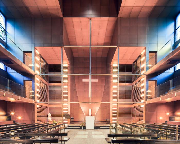 Нотр-Дам-де-Л'Арх-д'Альянс, Париж, Франция (Architecture-Studio, 1998). | Фото: ©Thibaud Poirier.