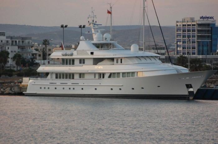 Яхта Olympia вместе с модернизацией и обновлением интерьеров обошлась в 55 млн дол. | Фото: restsnames.info.