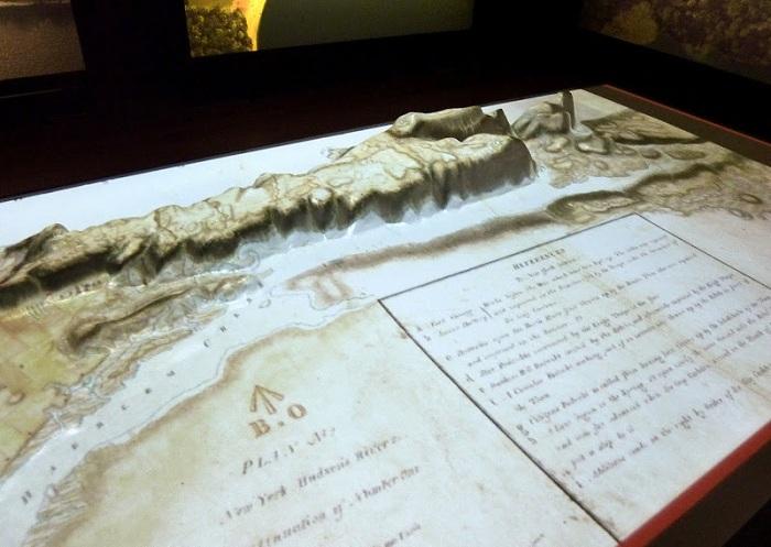 Вся история изменения ландшафта острова отражена в Проекте.