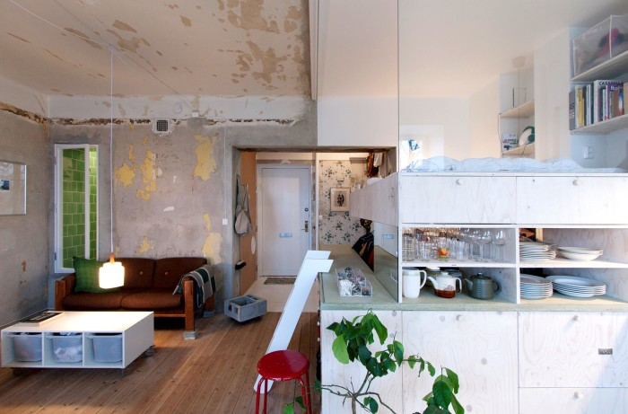 Разительный контраст архитектурных стилей. | Фото: plataformaarquitectura.cl.